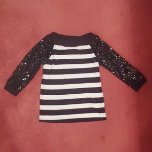 Girl's sequined sweater from Justice Size 14